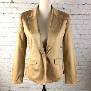 The Limited Vintage Women's Gold Blazer size S